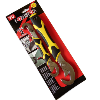 Snap'N Grip Universal Wrench 2pc a set
